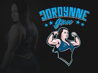 Jordynne Grace gym fit woman wrestling