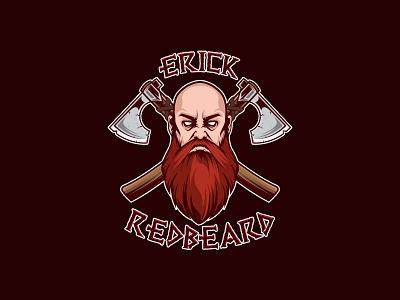 Redbeard wrestling axe viking