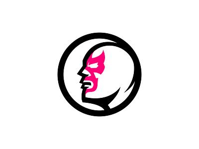 New logo logo design logotype mexico lucha logo