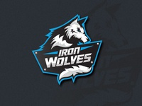 Iron Wolves logo