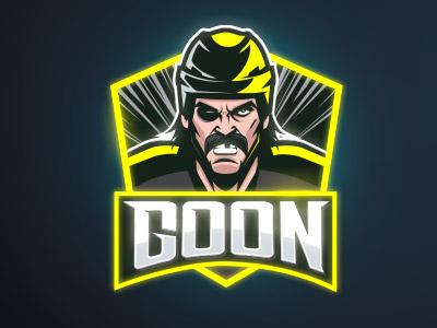 Goon sports illustration hockey goon