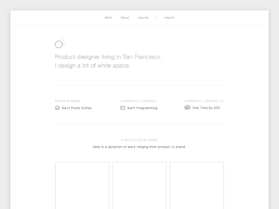 Minimal Layout Obsessions