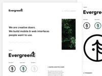 Evergreen Style Guide