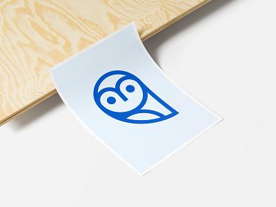 The Wisely Owl logo brand icon icon design brand identity branding logomark
