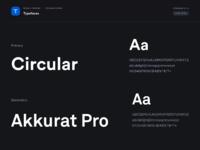Typeface foundations  dark ui  01