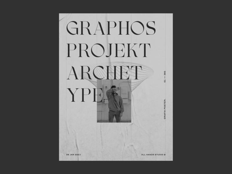 Archetype Poster minimalism abstract design art design art direction poster