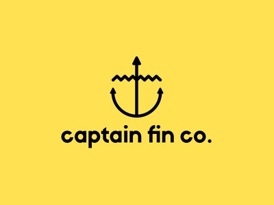 Captain Fin co. rebrand concept