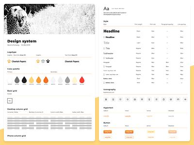 Design system web design system ui kit brand book brand identity brand xd