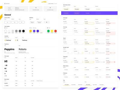Design system ui kit design system brand identity brand book brand web figma