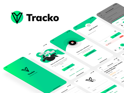 Tracko - Mobile app ios application app mobile ui mobile mobile app