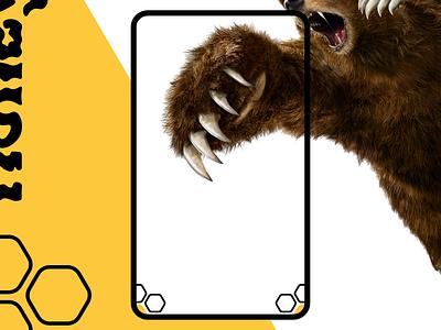 Honey beer bear honey mobile motion android xd application app