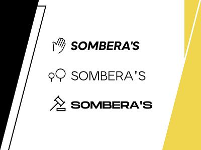 Sombera's logo xd branding brand logotype logo