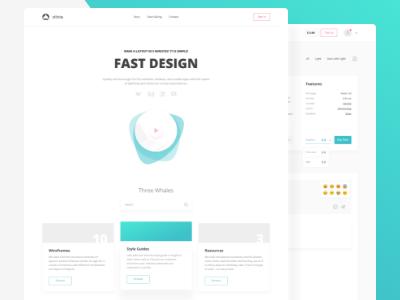 Fast Design fast design gui wireframes style guides resources website desktop mobile xd sketch