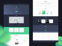 Clover - Mobile App Landing