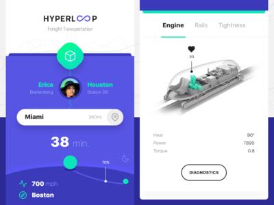 HYPERLOOP app ios hyperloop transportation freight