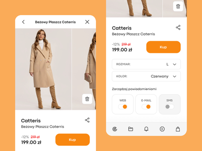 Spyanyshop - google chrome extension e-commerce fashion chrome extension chrome experience design ux ui