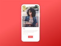 Daily UI Challenge 06 - User Profile