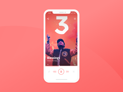 Daily UI Challenge 09 - Music Player