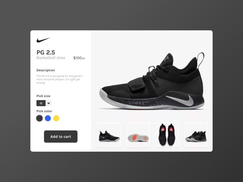 Daily UI Challenge 12 - E-Commerce Shop ui uidesign dailyui 100daychallenge