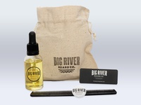 Big River Beard Oil Packaging