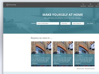 Room Search Website Design