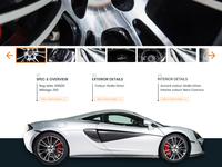 GVE - Luxury Car Listing Page #2