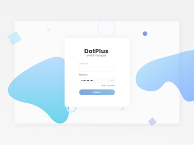 Login Page Design white blue light login page website web ux design ui design ux ui design minimal clear