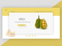 Jackfruit landing page