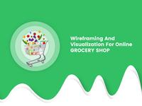 Grocery Shop wireframe