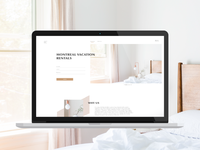 Vacation Rental Website Concept