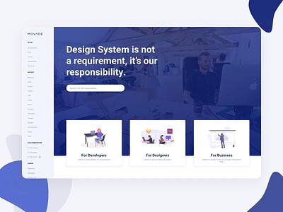 Design System - UX/UI principles principle animation components style guide atomic design dashboard design design system dashboard ui dashboard