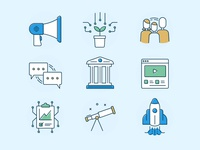 Hackster Filled Icons