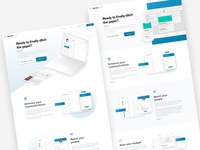 Landing Page Choices
