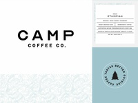 Camp Coffee Branding