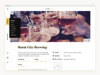 Craft Brewery Review - Concept
