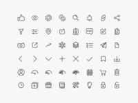 Hackster Iconography