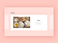 #16 Daily UI Challenge - Recipe website