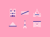 Paris Architectural Icons