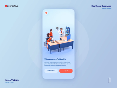Healthcare Super App Concept