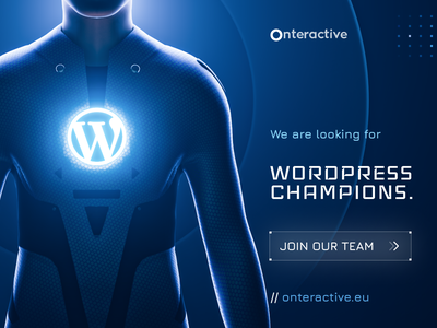 WordPress Champions - Onteractive HR post web development web dev website developer website design website web wordpress