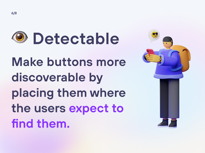 UX/UI Knowledge: Designing enticing buttons webdesign appdesign inspiration dribbble graphic design uxdesign uidesign procreate figma designinspiration uiuxdesign userexperience uxinspiration buttons