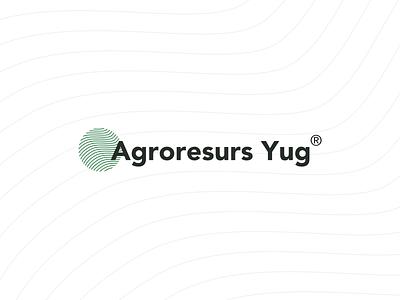 Agroresurs Yug logo logodesign agriculture logo agricultural agriculture trends 2020 trend typography web app icon vector branding logo
