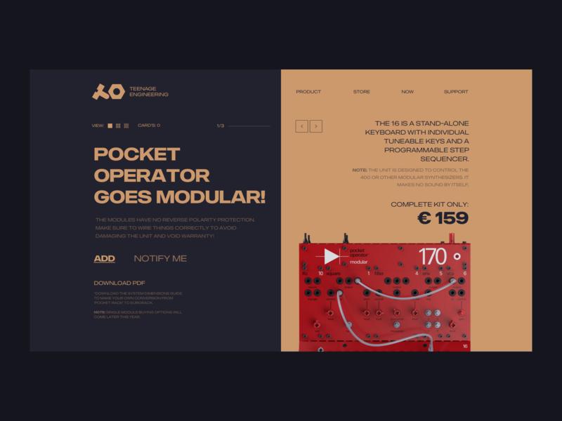 Pocket Operator Goes Modular