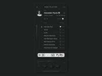 "Skeuomorph Mobile player | NEW ""Thanks"""