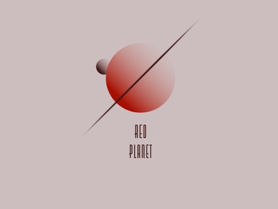 Planet sci-fi space solarsystem planet planet logo flat drawing abstract minimal illustration design illustrator adobe