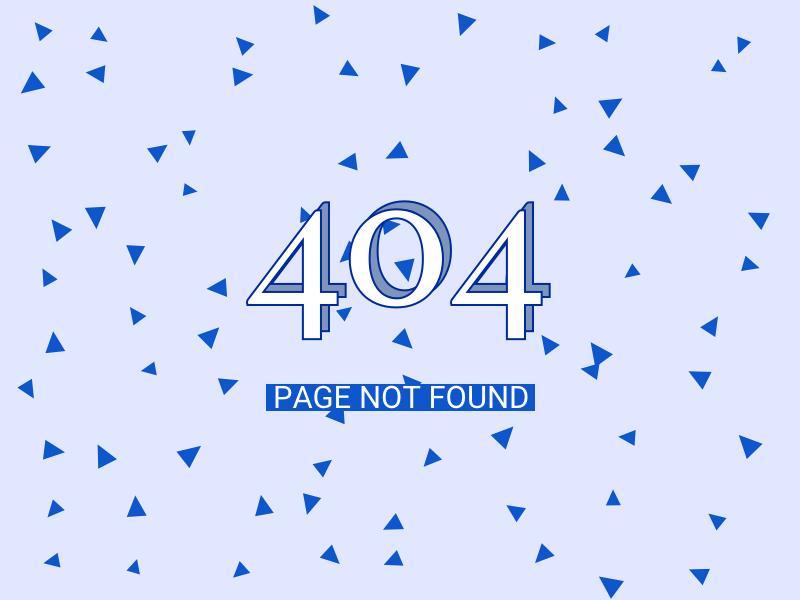 404 - daily ui confetti blue 404 ui design dailyui