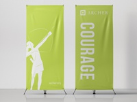 Archer School Theme Banners