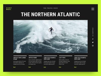 Surf Magazine: The Travel Issue 01