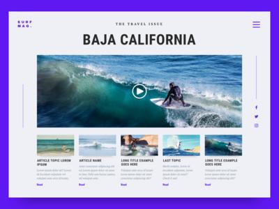 Surf Magazine: The Travel Issue 02