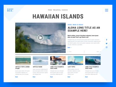 Surf Magazine: The Travel Issue 03